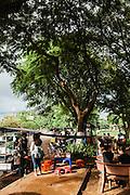 Street-side food vendor,Siem Reap