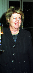 BARONESS GOUDIE at a reception in London on 17th November 1999.MZF 78