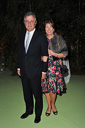 VISCOUNT & VISCOUNTESS ASTOR at a dinner hosted by Cartier in celebration of the Chelsea Flower Show held at Battersea Power Station, 188 Kirtling Street, London SW8 on 23rd May 2011.