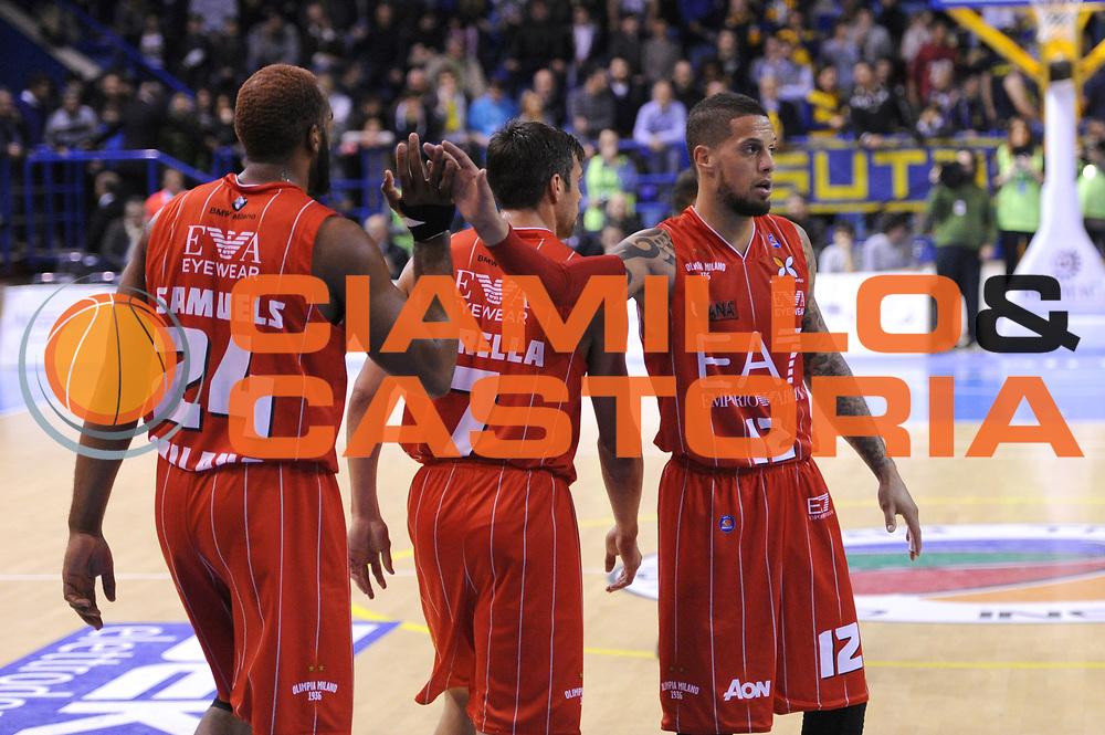 DESCRIZIONE : Porto San Giorgio Lega A 2013-14 Sutor Montegranaro EA7 Emporio Armani Milano<br /> GIOCATORE : Daniel Hackett<br /> CATEGORIA : esultanza<br /> SQUADRA : Sutor Montegranaro EA7 Emporio Armani Milano<br /> EVENTO : Campionato Lega A 2013-2014<br /> GARA : Sutor Montegranaro EA7 Emporio Armani Milano<br /> DATA : 24/03/2014<br /> SPORT : Pallacanestro <br /> AUTORE : Agenzia Ciamillo-Castoria/C.De Massis<br /> Galleria : Lega Basket A 2013-2014  <br /> Fotonotizia : Porto San Giorgio Lega A 2013-14 Sutor Montegranaro EA7 Emporio Armani Milano<br /> Predefinita :
