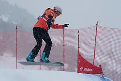 BUNSCHOTEN Lisa, Snowboarder Cross, 2015 IPC Snowboarding World Championships, La Molina, Spain