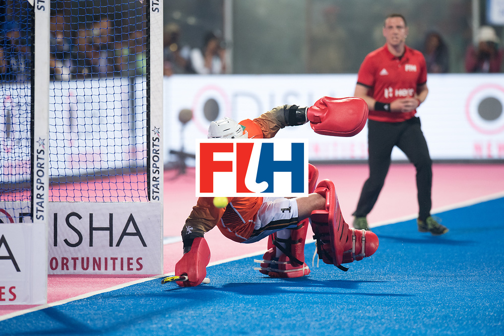 Odisha Men's Hockey World League Final Bhubaneswar 2017<br /> Match id:05<br /> 05 GER v AUS (Pool B)<br /> Foto: keeper Mark Appel (Ger) <br /> WORLDSPORTPICS COPYRIGHT FRANK UIJLENBROEK