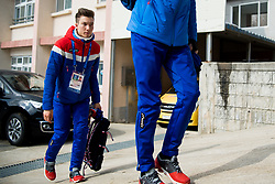 February 9, 2018 - Pyeongchang, SOUTH KOREA - 180209 Johann AndrŽ Forfang of Norway ahead of a press event with the Norwegian men's ski jumping team during the 2018 Winter Olympics on February 9, 2018 in Pyeongchang..Photo: Jon Olav Nesvold / BILDBYRN / kod JE / 160148 (Credit Image: © Jon Olav Nesvold/Bildbyran via ZUMA Press)