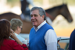 Kentucky Lt. Governor Jerry Abramson was on hand for backside festivities during workouts Wednesday, May 01, 2013 at Churchill Downs in Louisville. Photo by Jonathan Palmer