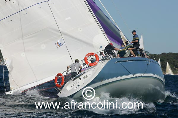 SAILING - BMW Winter Series 2004/ Sydney  (AUS) - BIG KAHUNA- 4/07/04 - Photo: Andrea Francolini