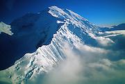Mt. McKinley (aerial view) - Alaska