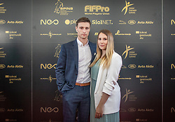 Rok Sirk of Mura during SPINS XI Nogometna Gala 2019 event when presented best football players of Prva liga Telekom Slovenije in season 2018/19, on May 19, 2019 in Slovene National Theatre Opera and Ballet Ljubljana, Slovenia. ,Photo by Urban Meglic / Sportida
