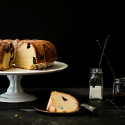 Blueberry and Lemon Pound Cake
