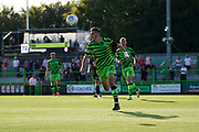 Liam Kitching of Forest Green Rovers in action during the EFL Sky Bet League 2 match between Forest Green Rovers and Stevenage at the New Lawn, Forest Green, United Kingdom on 21 September 2019.