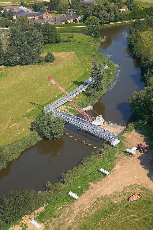 Bruz et Chavagne - Future passerelle pour cycliste sur la Vilaine - Écluse de Cicé Blossac