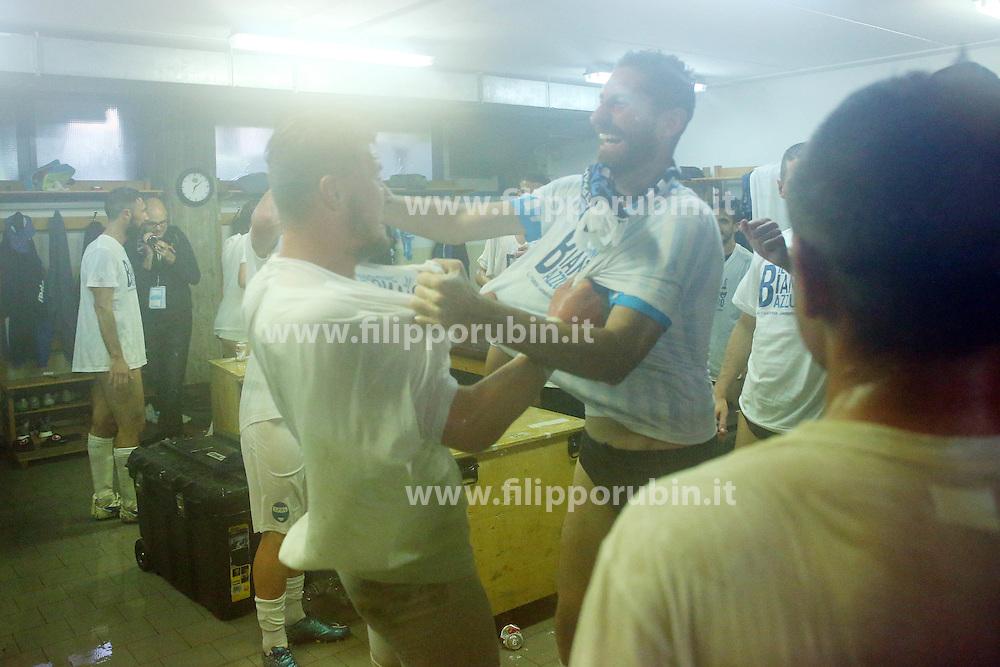 SPAL - AREZZO SPAL - AREZZO<br /> PROMOZIONE SPAL IN SERIE B<br /> FERRARA 23-04-2016<br /> FOTO FILIPPO RUBIN