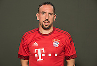 German Soccer Bundesliga 2015/16 - Photocall of FC Bayern Munich on 16 July 2015 in Munich, Germany: Franck Ribery