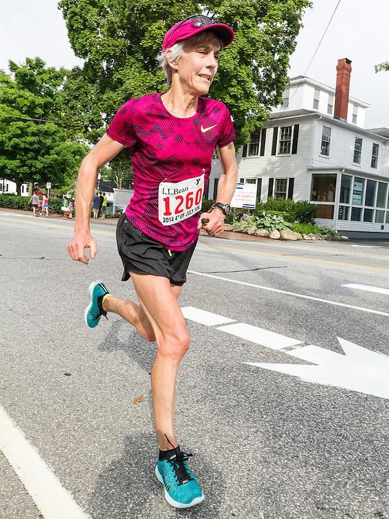 LL Bean Fourth of July 10K road race: Joan Samuelson