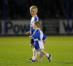 Mascots - Mandatory byline: Neil Brookman/JMP - 07966 386802 - 06/10/2015 - FOOTBALL - Memorial Stadium - Bristol, England - Bristol Rovers v Wycombe Wanderers - JPT Trophy