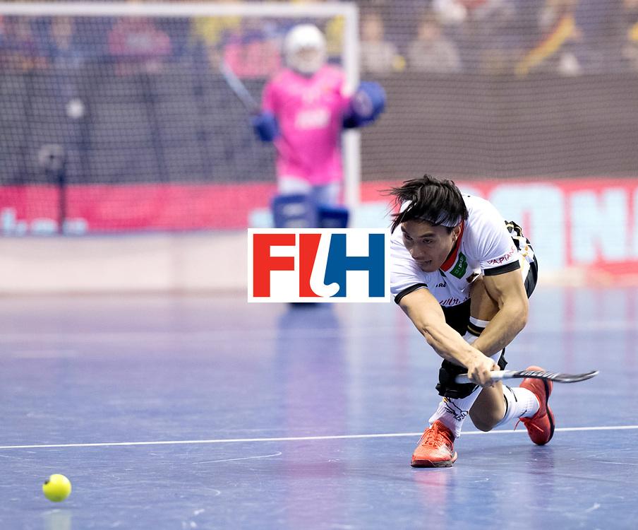 BERLIN - Indoor Hockey World Cup<br /> Quarterfinal 3: Germany - Switzerland<br /> foto: Dan Nguyen.<br /> WORLDSPORTPICS COPYRIGHT FRANK UIJLENBROEK