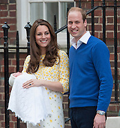 KATE & Prince William Leave Hospital With Daughter2