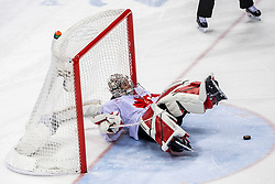 22-02-2018 KOR: Olympic Games day 13, PyeongChang<br /> Final Ice Hockey Canada - USA 2-3 / Shannon Szabados #1 of Canada
