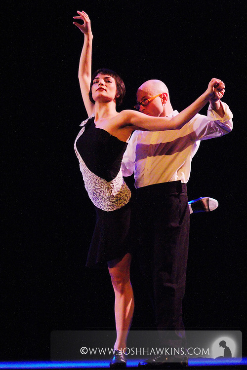 Chicago Tap Theatre - Tap!(ish).Flamencology, choreography by Rosetta Magdalen and Mark Yonally.Dancers, Mark Yonally and Jennifer Pfaff Yonally
