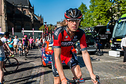 OSS Daniel from Italy of BMC Racing Team (USA), after the finish at the team buses in Arnhem, stage 3 from Nijmegen to Arnhem running 190 km of the 99th Giro d'Italia (UCI WorldTour), The Netherlands, 8 May 2016. Photo by Pim Nijland / PelotonPhotos.com | All photos usage must carry mandatory copyright credit (Peloton Photos | Pim Nijland)
