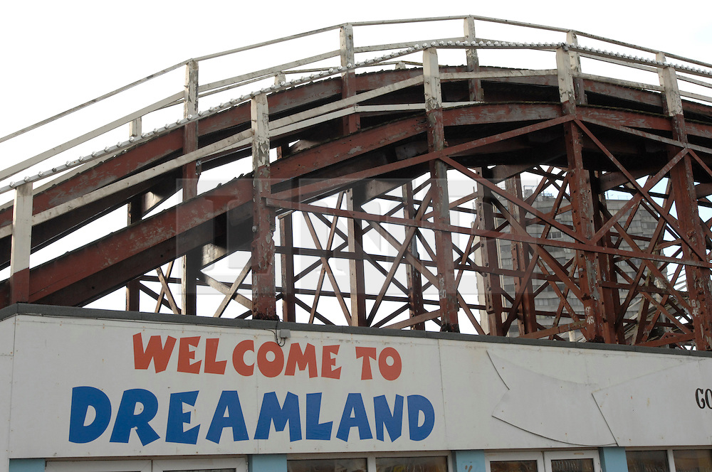"""©  licensed to London News Pictures. .Margate, UK.(stock pictures from 1998).03/05/2011.Tough measures have been taken to secure the future of the Dreamland fun park project, which is widely regarded as essential to the regeneration of Margate..Thanet council cabinet has invoked compulsory purchase proceedings against landowners Margate Town Centre Regeneration Company..Council chief executive Richard Samuel said: """"We are determined to continue the regeneration of Margate. Please see special instructions..Picture credit should read Grant Falvey/LNP......"""