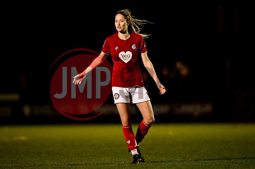 Georgia Wilson of Bristol City Women - Mandatory by-line: Ryan Hiscott/JMP - 08/12/2019 - FOOTBALL - Stoke Gifford Stadium - Bristol, England - Bristol City Women v Birmingham City Women - Barclays FA Women's Super League