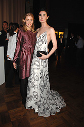 Left to right, DONNA AIR and ERIN O'CONNOR at the British Fashion Awards 2007 held at the Royal Horticultural Halls, Vincent Square, London on 28th November 2007.<br />