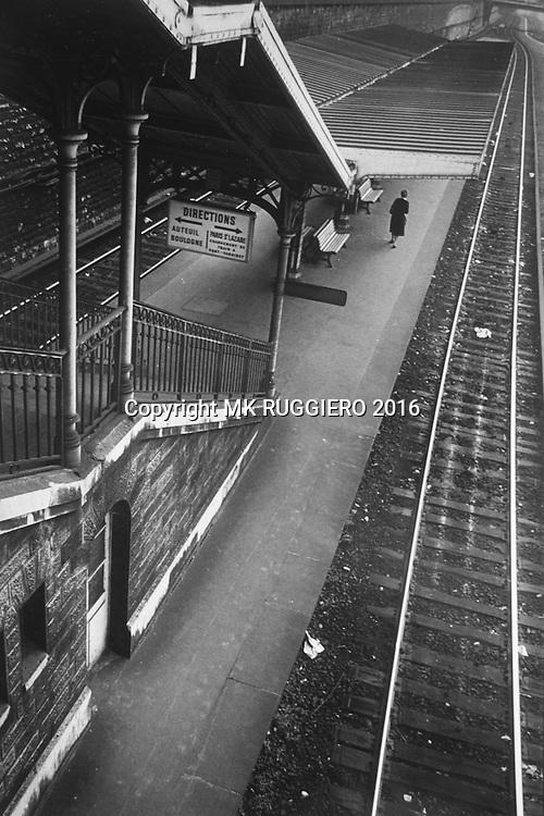 Gare du St Lazare - Paris - 1983