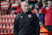Walsall's manager Jon Whitney before the EFL Sky Bet League 1 match between Walsall and Northampton Town at the Banks's Stadium, Walsall, England on 4 February 2017. Photo by Jacqueline Theodosi.