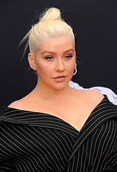 Christina Aguilera at the 2018 Billboard Music Awards held at the MGM Grand Garden Arena in Las Vegas, USA on May 20, 2018.