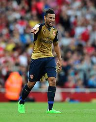Francis Coquelin of Arsenal   - Mandatory by-line: Joe Meredith/JMP - 25/07/2015 - SPORT - FOOTBALL - London,England - Emirates Stadium - Arsenal v Lyon - Emirates Cup