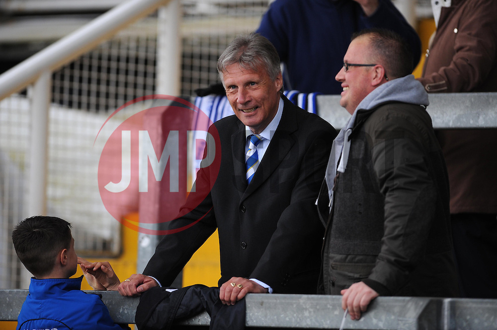 Bristol Rovers Director of Football, John Ward  - Photo mandatory by-line: Dougie Allward/JMP - Mobile: 07966 386802 12/04/2014 - SPORT - FOOTBALL - Bristol - Memorial Stadium - Bristol Rovers v Torquay United - Sky Bet League Two