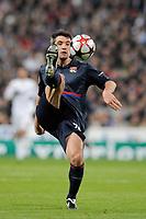 FOOTBALL - UEFA CHAMPIONS LEAGUE 2009/2010 - 1/8 FINAL - 2ND LEG - REAL MADRID v OLYMPIQUE LYONNAIS - 10/03/2010 - PHOTO JEAN MARIE HERVIO / DPPI - JEREMY TOULALAN (OL)