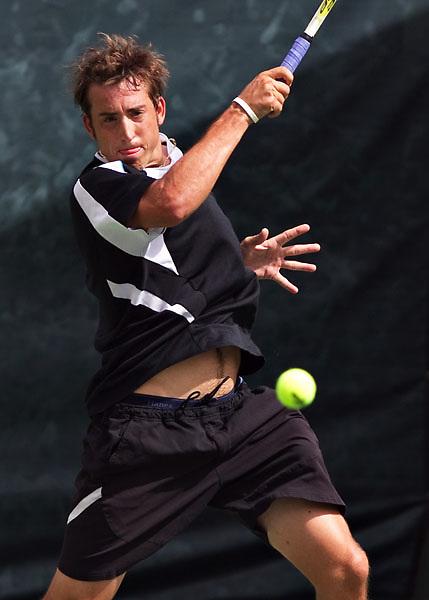 Tennis play at the Arizona Open at the Village Tennis Club in Phoenix, AZ on September 12, 2010...Mens singles final