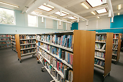 Public library in Harold Hill, Havering, London UK