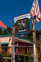 California: Vladimir's Czech Restaurant at Inverness Park, Point Reyes National Seashore near San Francisco. Photo copyright Lee Foster. Photo # casanf81400