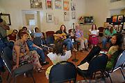 Folk Women's Jam & Song Circle at the 2011 Tucson Folk Festival.