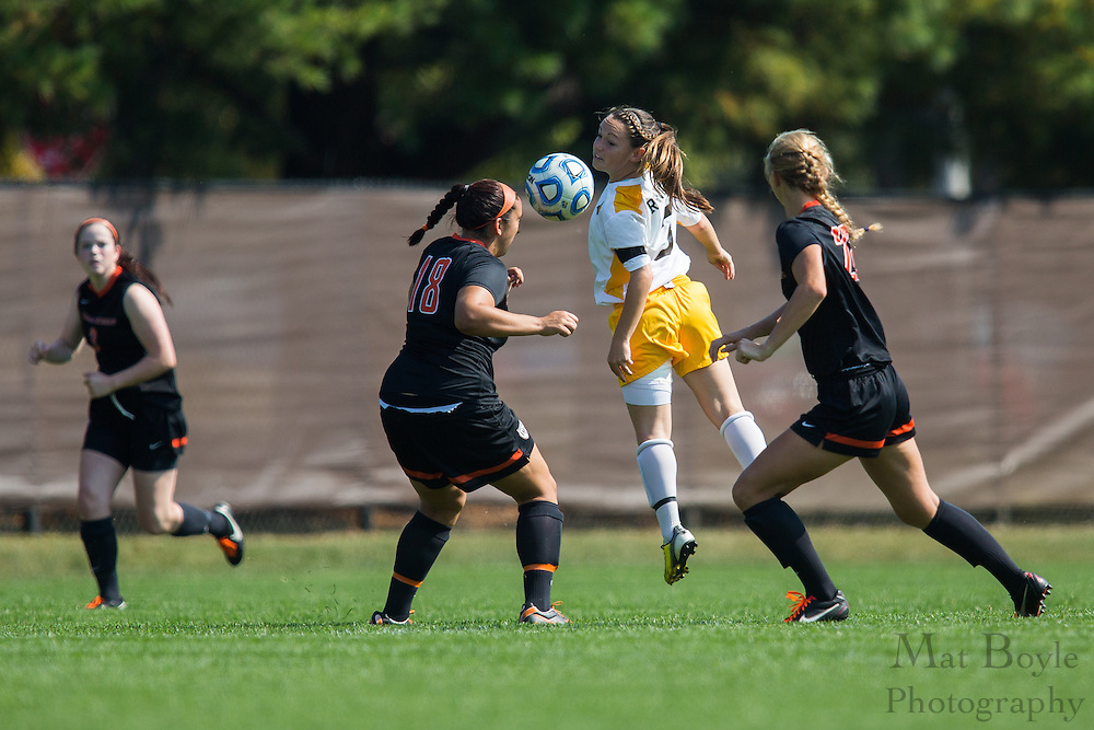 Rowan University Junior Midfielder/Forward Jess Durnian (3) - Rowan University Women's Soccer vs. William Patterson University at Rowan Univeristy Soccer Fields in Glassboro, NJ on Saturday October 5, 2013. (photo / Mat Boyle)