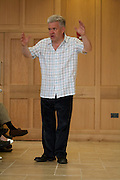 Ian McMillan at Magdalen College School Arts Festival 2009