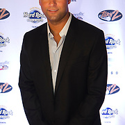 Derek Jeter on the red carpet for the kick off party for the 9th Annual Derek Jeter Celebrity Golf Classic presented by Seminole Hard Rock Hotel & Casino in Tampa..Photo by James Branaman Florida Annual Report Photography, Florida Commercial Photography, Corporate Event Photography