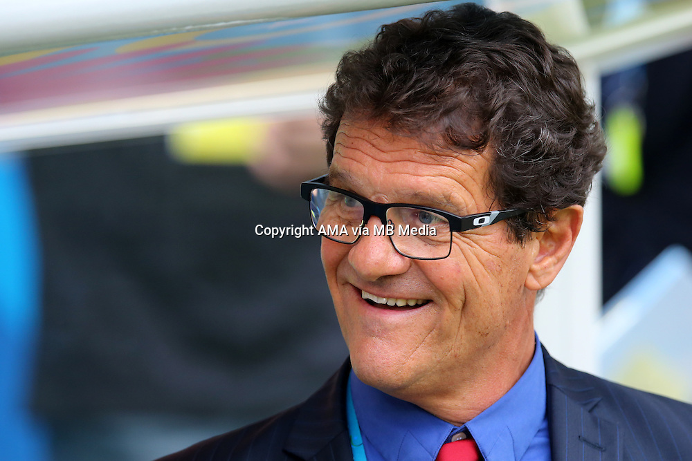 Russia manager / head coach Fabio Capello