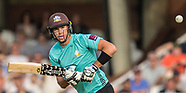 19 July 2017 - Surrey v Essex in the NatWest T20Blast cricket match at the Kia Oval