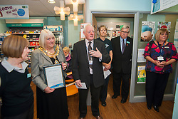 Lloyds Pharmacy Stocksbridge has .achieved the status of 'Healthy Living Pharmacy'. A special accreditation for offering high levels of health screening  and advice to the local community.....04 October 2012.Image © Paul David Drabble