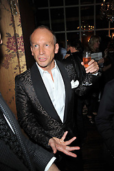 ROBERT NEWMARK at a party to celebrate the publication of her new book - Kelly Hoppen: Ideas, held at Beach Blanket Babylon, 45 Ledbury Road, London W11 on 4th April 2011.
