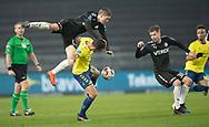 FODBOLD: André Rømer (Randers FC)  får en flyvetur over Kamil Wilczek (Brøndby IF) under kampen i Superligaen mellem Brøndby IF og Randers FC den 24. februar 2019 på Brøndby Stadion. Foto: Claus Birch.