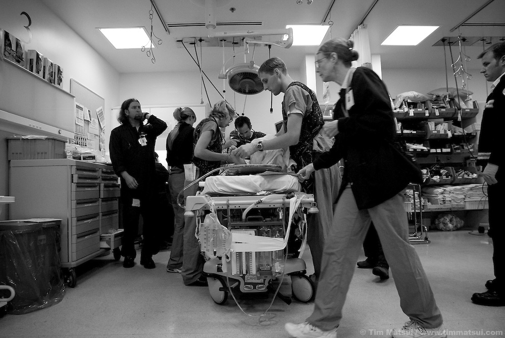 In the emergency department of Harborview Medical Center.