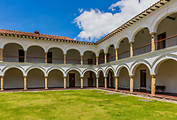 San augustin cloister in La Candelaria aera Bogota capital city of Colombia South America