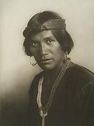 Pedro Begay, Native American Indian, Navajo. Photograph 1904-1910.