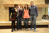 The Wisconsin Union is home of the Wisconsin Union Directorate student programming.  Pictured are the VPs for the 2011-2012 year.  (L-R) Sarah Matthews, Kiley Groose, Katie Fischer and Martin Feehan.