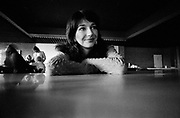 Kate Bush during Melody Maker interview 1980