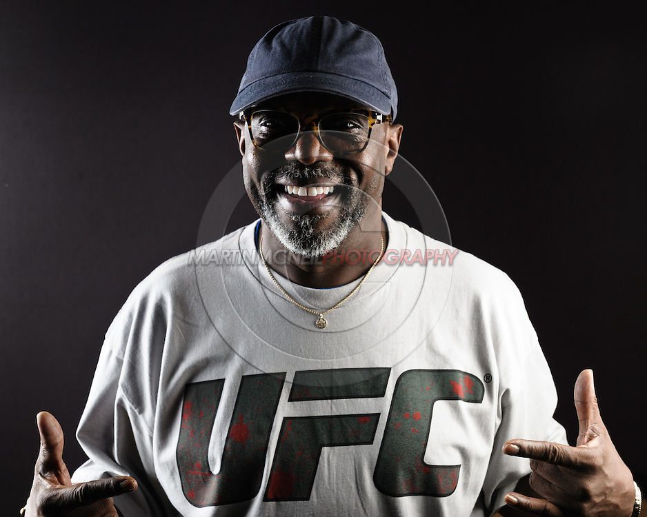 "BIRMINGHAM, ENGLAND, NOVEMBER 3, 2011: Burt Watson poses for a portrait after the press conference for ""UFC 138: Munoz vs. Leben"" inside the Hilton Hotel in Birmingham, England on November 3, 2011."